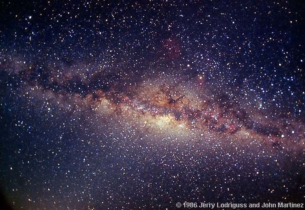 earth milky way galaxy - photo #7