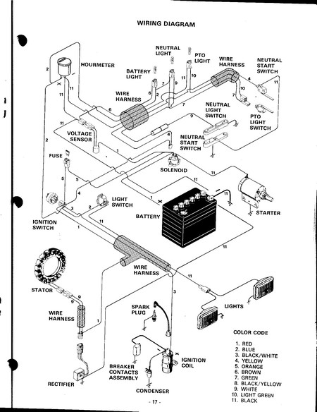 Case Lawn Tractor Wiring Diagram